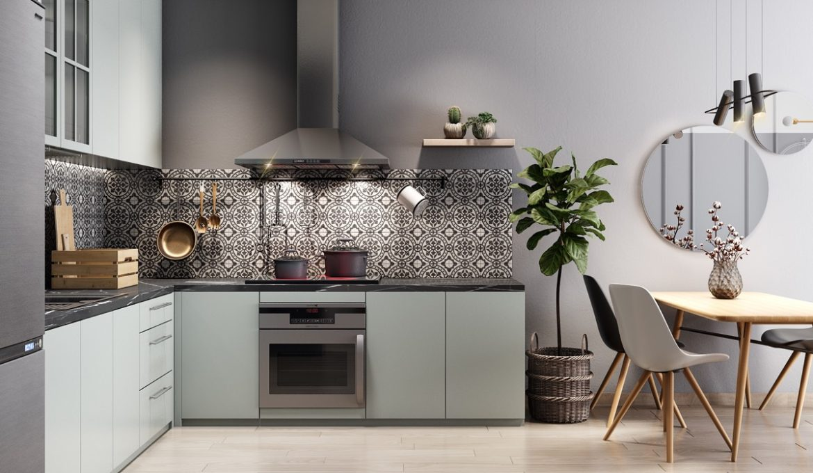 L Shaped Kitchen Ella Furniture Ltd
