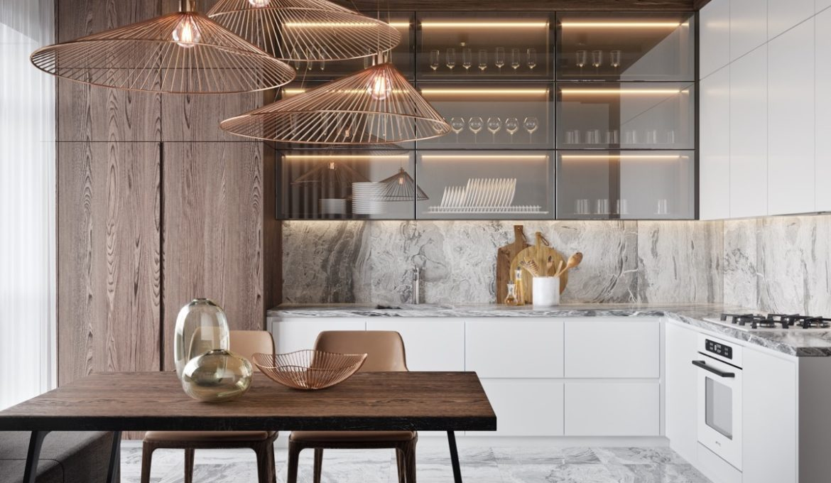 L-shaped-kitchen-with-banquette-dining