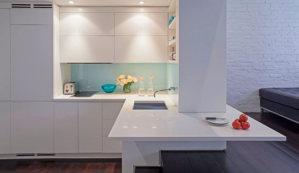 L-shaped-kitchen-with-island-bench