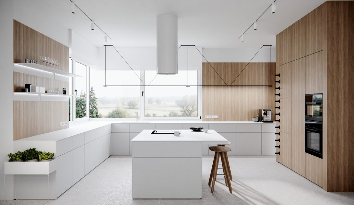 white-l-shaped-kitchen-with-island